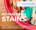 No pain from stains web banner