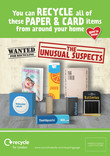 RfL - Unusual Suspects - Paper and Card - Press Advert