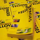 Multiple copies of Yellow Pages