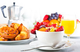 LFHW Scotland - continental breakfast