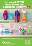Good to Know - Plastics - Combined Poster of Kitchen and Bathroom products - A4/A3/6 Sheet
