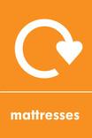 Mattress signage - logo (portrait)