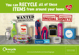 Recycle for London Unusual Suspects - 1/2 page press advert