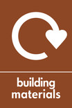 Building materials icon - logo (portrait)