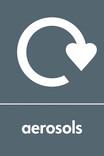 Aerosols signage - logo (portrait)