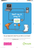 Don't Bin it Bring it - A3 poster for multiple items