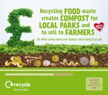 Recycle for London - Food Recycling - Mixed 2 - Vehicle Livery