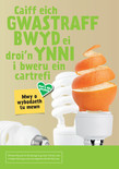Good to Know - Food A5 Leaflets (with blue caddy) (English & Cymraeg)