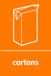Cartons signage - carton icon (portrait)