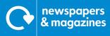 News & magazines signage - logo (landscape)
