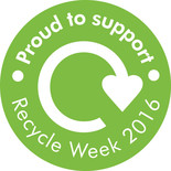 Recycle Week 2016 - Supporters badge