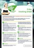 Your Business Is Food 3 Day Tracking Sheet