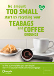 Recycle for London - Food recycling - Coffee (Cup) - A3/A4 poster