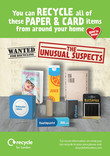 RfL - Unusual Suspects - Paper and Card - Editable Press Advert