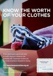 Love Your Clothes - Know The Worth of Your Clothes - A4 Poster