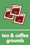 Tea & Coffee Grounds iconography