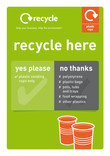 Poster A4 - Plastic cups