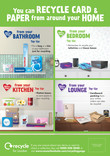 Recycle for London - Good to Know Paper and Card - A4 Posters