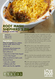 Student-friendly recipe,shepherds pie