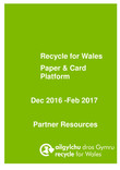 Good to Know - Paper & Card partner resource pack Christmas 2016 (Welsh language and English language versions)