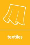 Textiles signage - curtains icon (portrait)
