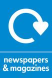 News & magazines signage - logo (portrait)