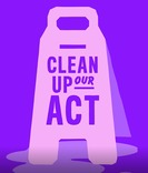 #inourownhands - bathroom videos - clean up our act