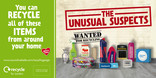 Recycle for London Unusual Suspects - 48 sheet