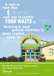 Recycle for London - Food recycling - Local benefit A3/A4 poster - School