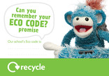 Key stage 1 and 2 recycling poster: eco promise