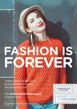 Love Your Clothes - Fashion is Forever - A4 Poster