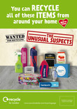 Recycle for London Unusual Suspects - 1/4 page press adverts