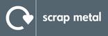 Scrap metal signage - logo (landscape)