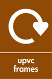 UPVC frames signage - logo (portrait)