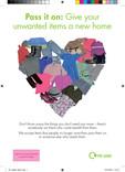 Leaflet A5 - Textiles & Clothing heart