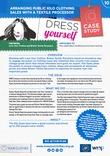 Love Your Clothes Campaign Case Study & Action Plan: Public clothing sale