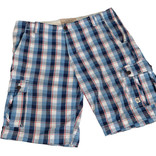 Men's checked shorts