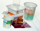 Yoghurt pots, margarine tub, sandwich container, crisp packet
