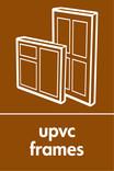 UPVC frames signage - frame icon (portrait)