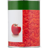 Steel food can - tinned tomatoes