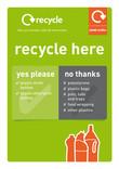 Poster A4 - Plastic bottles