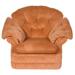 Tan coloured armchair
