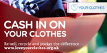 Cash in on Your Clothes web banner