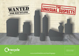 Unusual Suspects - Glass and Metal - Flyer