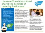 Your Business is Food case study - LLansantffraed Court Hotel