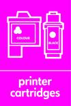 Printer Cartridges signage - cartridges icon (portrait)