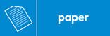 Paper icon - logo (landscape)