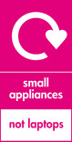 Small appliances (not laptops) signage - logo (portrait)