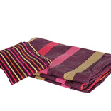 Striped duvet cover and pillow case