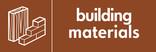 Building Materials signage - Materials icon (landscape)